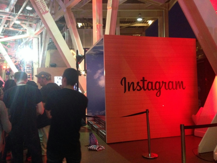 Instagram's Superhero Photo Booth