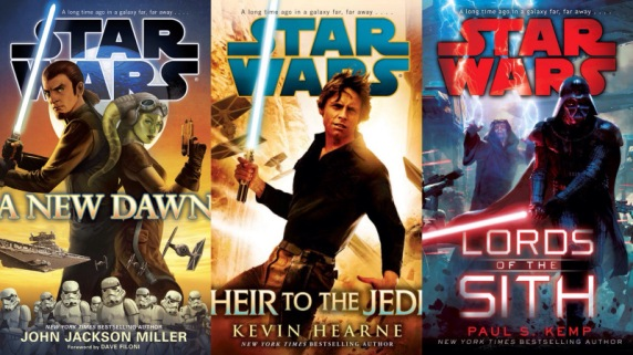 New Expanded Universe Novels by Disney Story Group