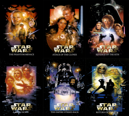 Complete Star Wars Saga. Episode I - VI