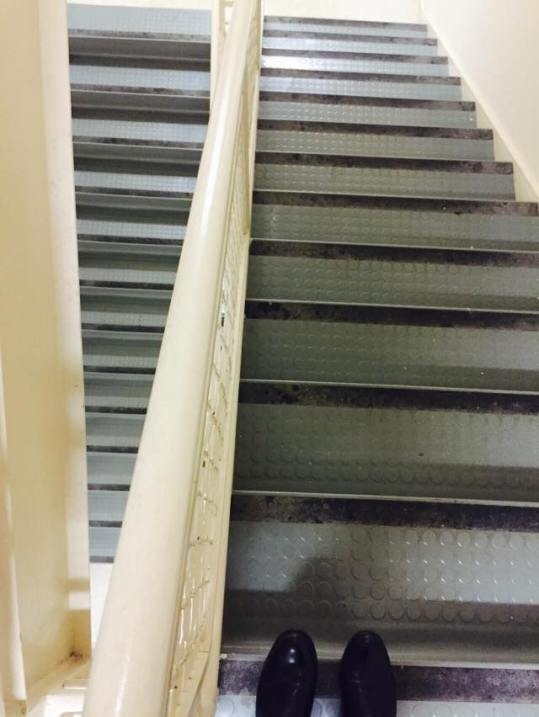 Taking the Stairs Fitness Challenge Blog Collaboration Lean + Nerd