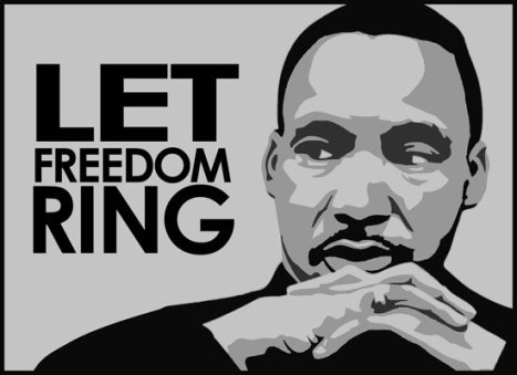 Martin Luther King Jr Day Let freedom ring