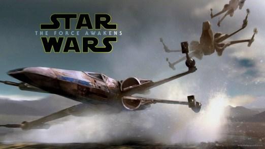 X-Wings Star Wars The Force Awakens recap blog