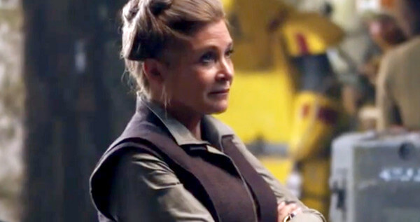 Star Wars The Force Awakens General Leia Organa