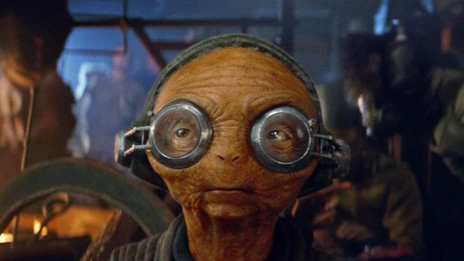 Star Wars The Force Awakens Maz Kanata reaction blog