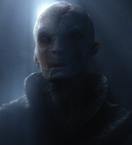 Star Wars The Force Awakens Supreme Leader Snoke