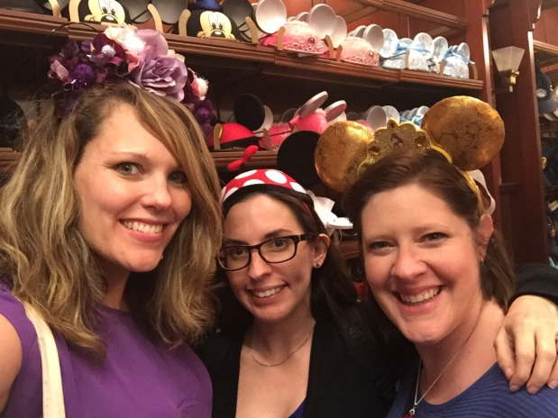 Lizzie, Cristina and Erin Disney Bounding Share Your Ears Disney blog