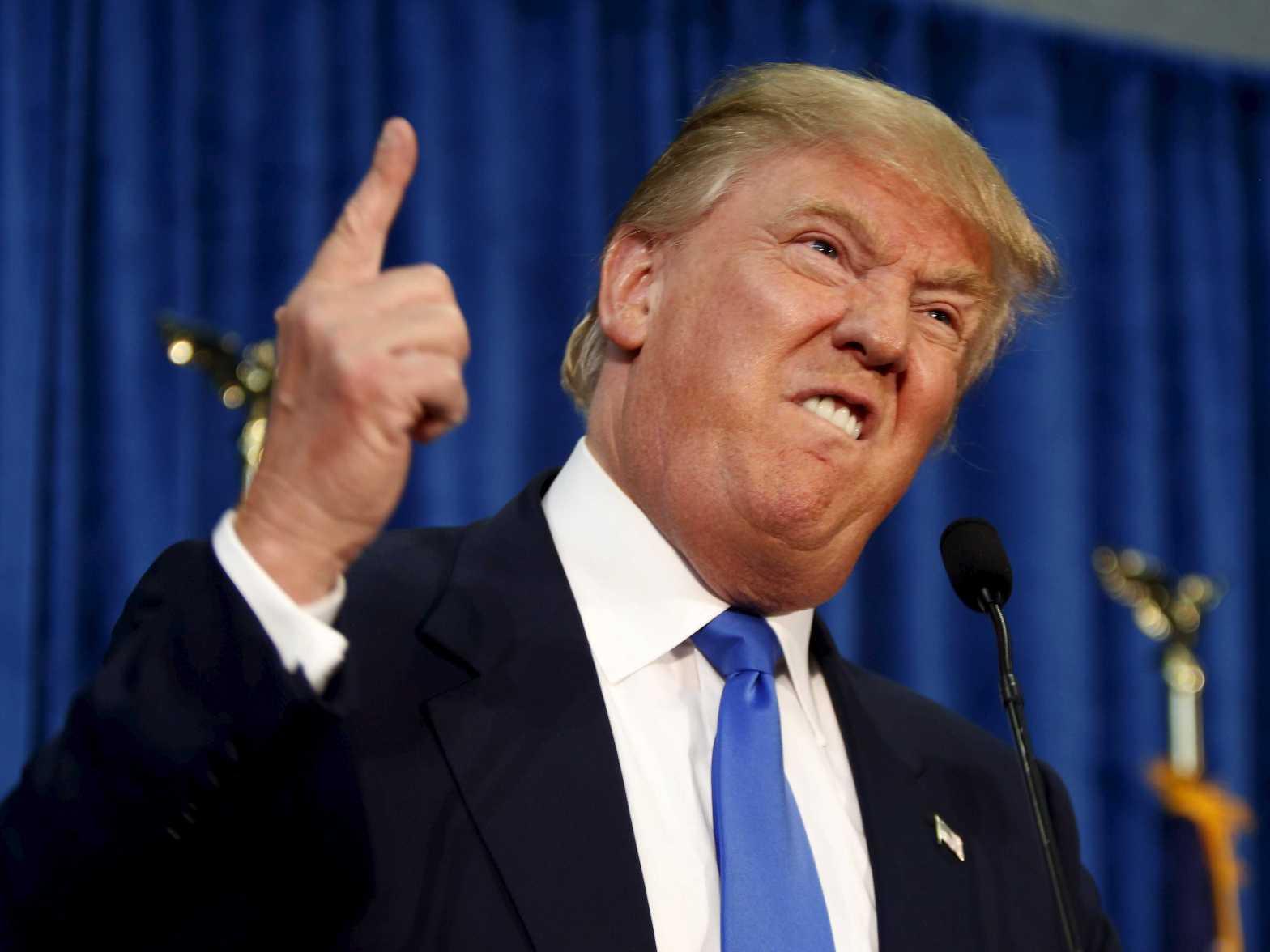 Donald trump hatred anger election blog post