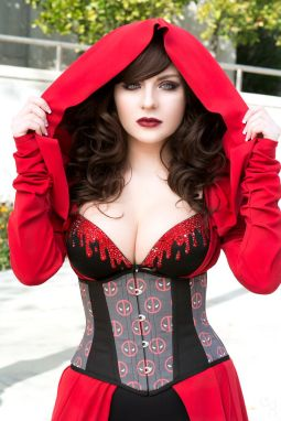Castle Corsetry Etsy Fashion Deadpool