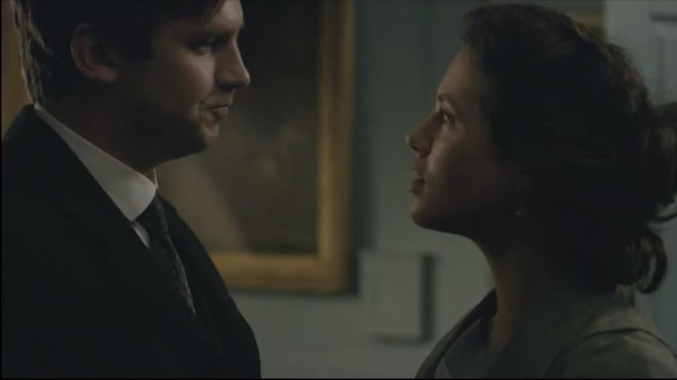 Lady Sybil and Matthew Crawley Downton Abbey finale PBS blog post