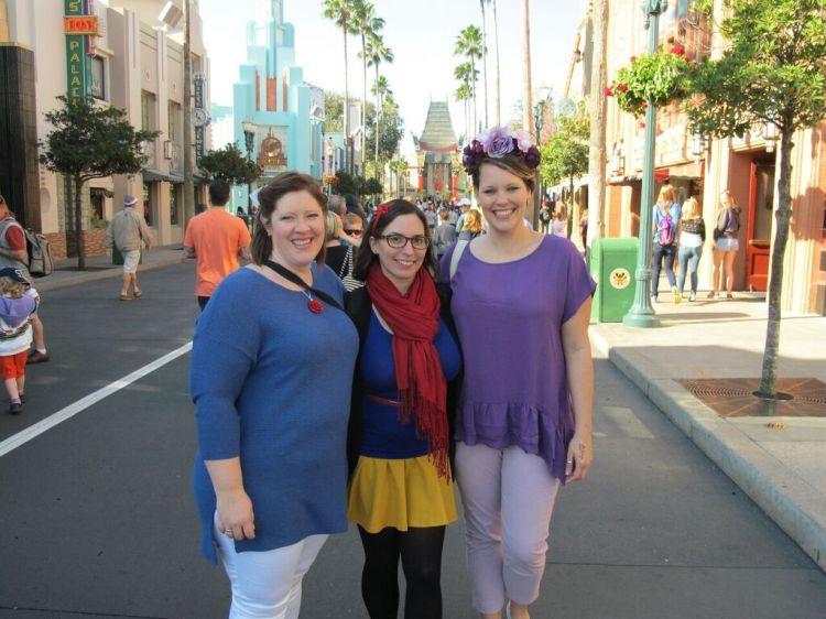 Ladies Weekend at Walt Disney World Disney Bounding blog post