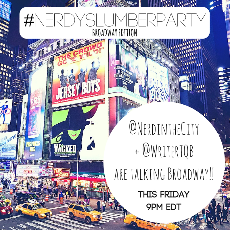 Nerdy Slumber Party @nerdinthecity Twitter Party