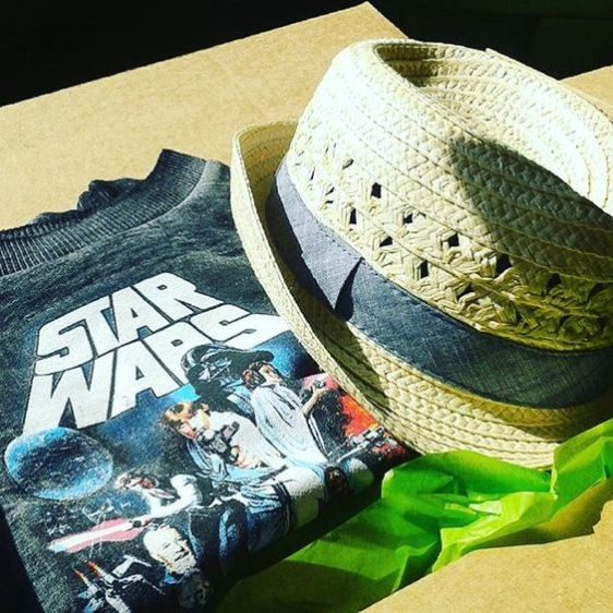 You've GOt Mail iNstagram challenge mail a package star wars shirt blog post