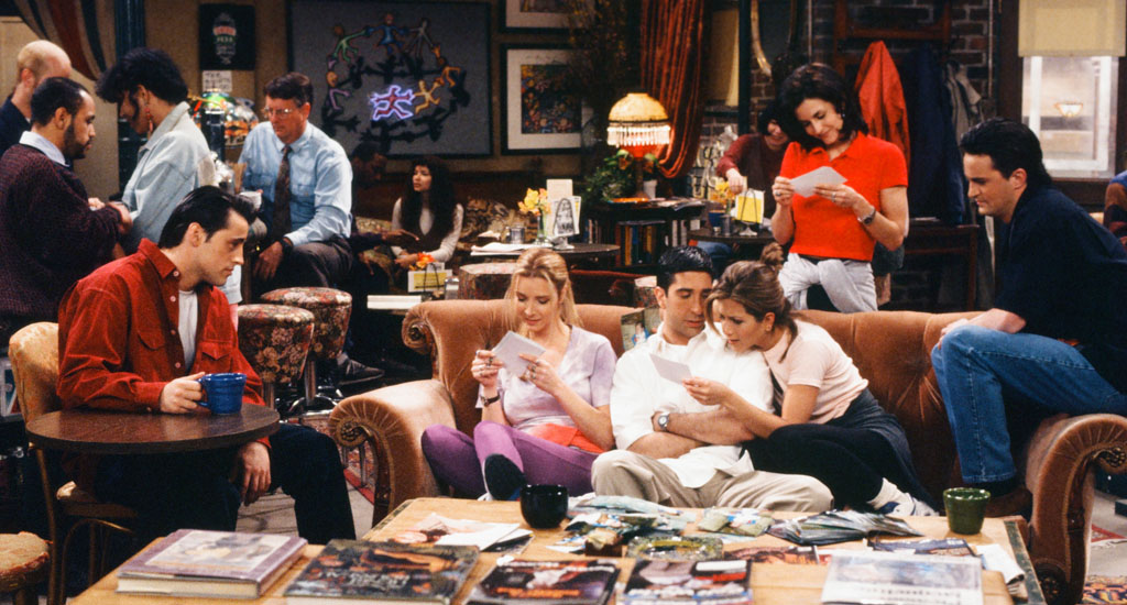 Unrealistic Expectations from Friends TV show blog nerd