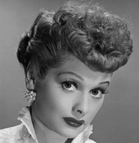 30 Days of Nerdy Hair Day 13 Lucy Ricardo I Love Lucy Lucille Ball blog post