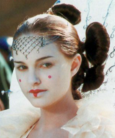 30 Days of Nerdy Hair Day 17 Padme Amidala Star Wars Episode I THe Phantom Menace hair blog post