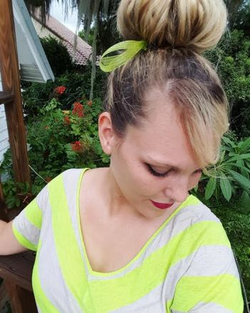 30 Days of nerdy Hair Day 11 Tinkerbell Disney's Peter Pan hairstyles blog post