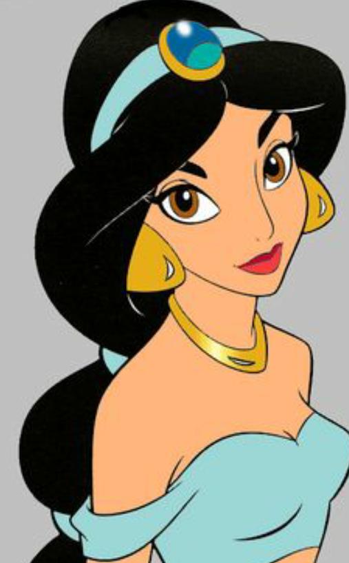 30 Days of Nerdy Hair Day 8 Princess Jasmine Aladdin Disney blog post
