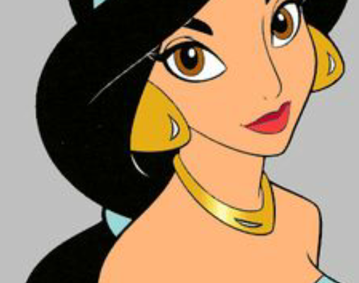 30 Days of Nerdy Hair Day 8 Princess Jasmine Aladdin Disney blog post