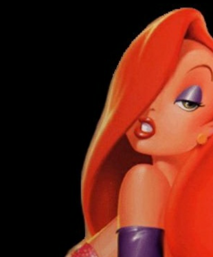 30 Days of Nerdy Hair Day 30 Jessica Rabbit Disney 80's hair cartoon blog post