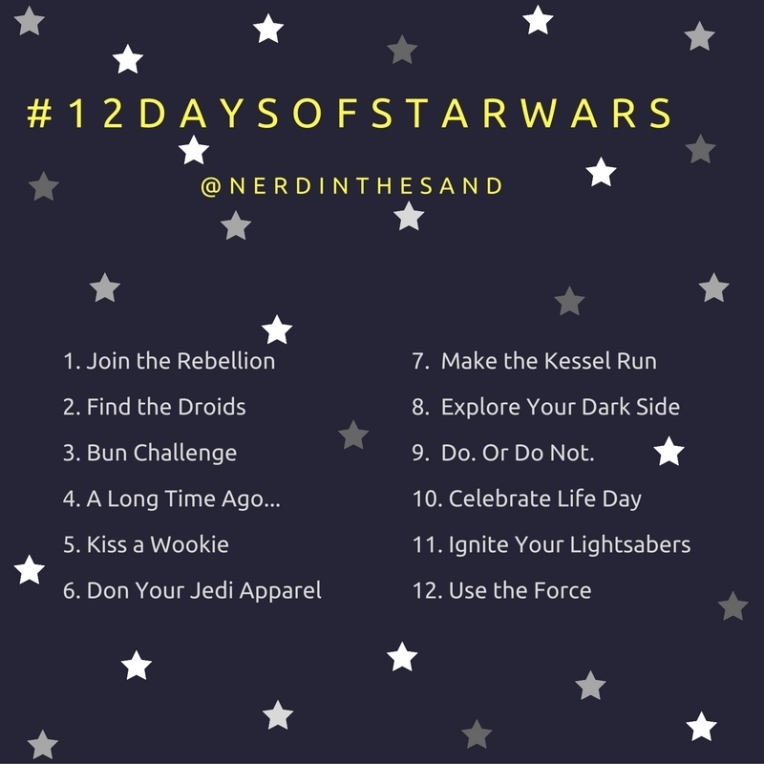 #12Days of Star Wars Instagram Challenge Nerds