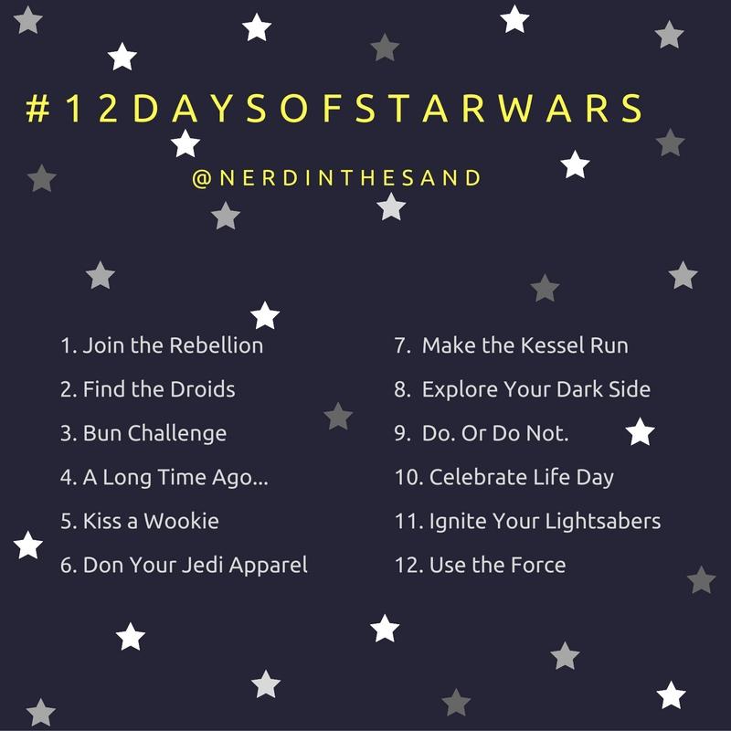 #12Days of Star Wars Instagram Challenge Nerds