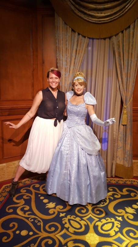 Cinderella Week Disney Princess Boot Camp fitness nerd blog post