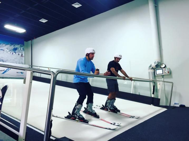 Disney Princess Boot Camp Elsa Week fitness Winter Ski Club virtual reality blog post