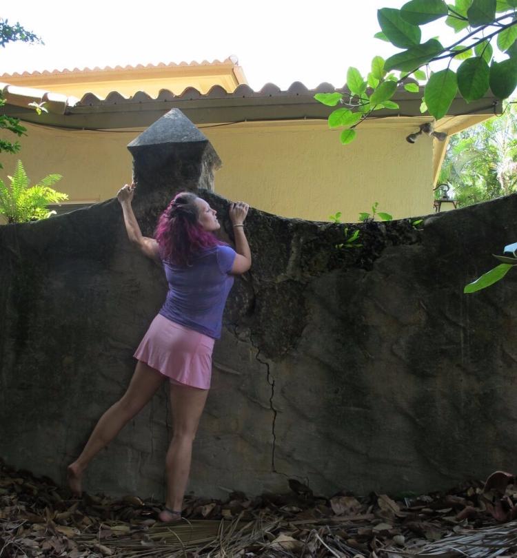 Disney Princess Boot Camp Rapunzel Week climbing fitness blog post