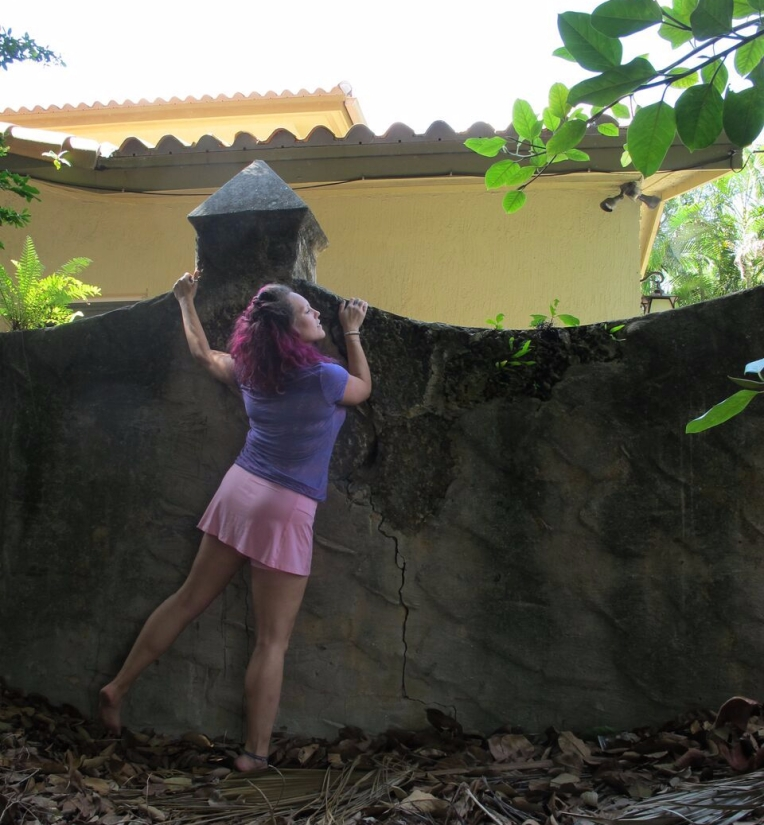 Disney Princess Boot Camp Rapunzel Week climbing fitness blog post