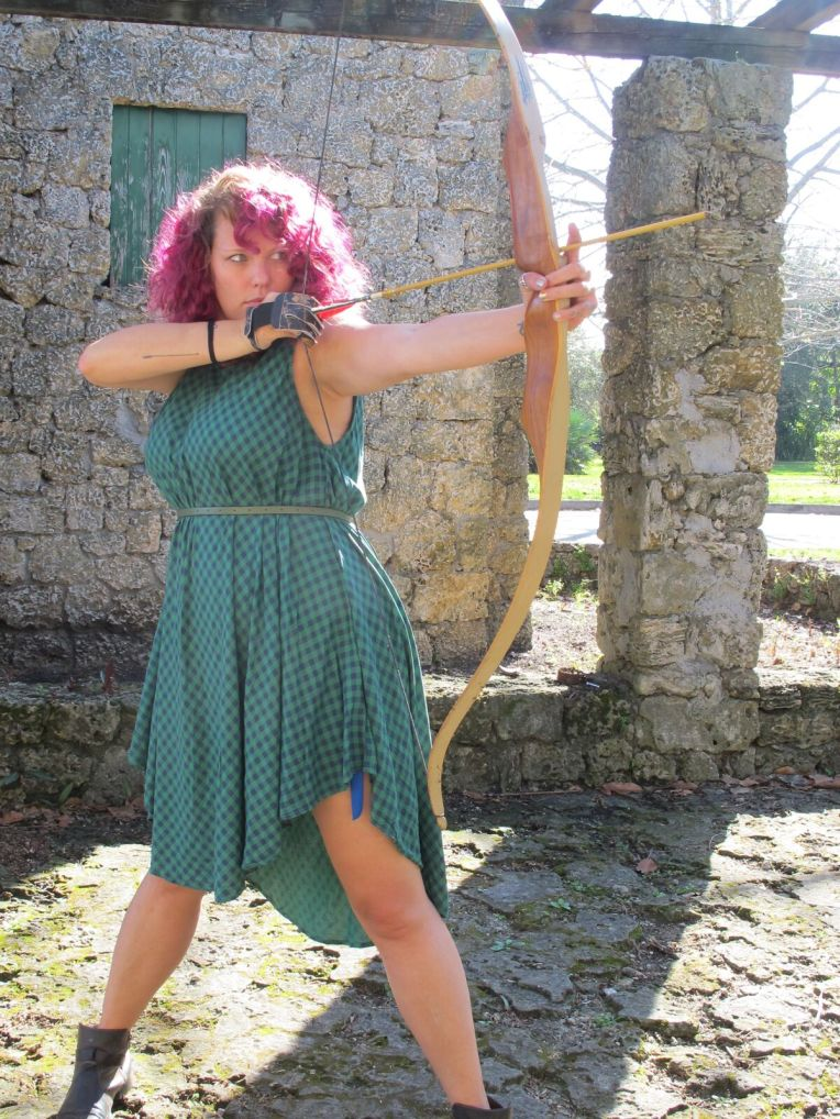 Disney Princess boot Camp Merida week archery fitness blog post