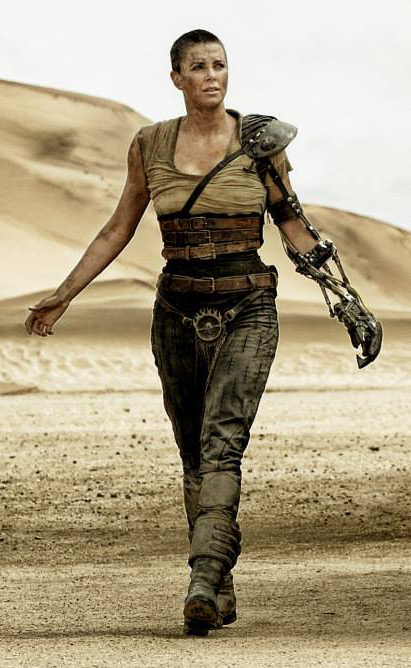 Thrift Store Cosplay Day 8: Imperator Furiosa from Mad Max Fury Road Charlize Theron fashion blog post