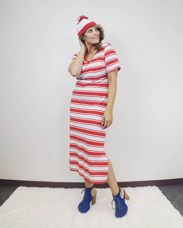 Thrift Store Cosplay Where's waldo fashion blogger post