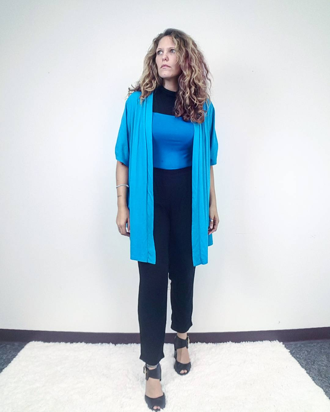 Thrift Store Cosplay Day 5 Beverly Crusher from Star Trek The Next Generation fashion blogger