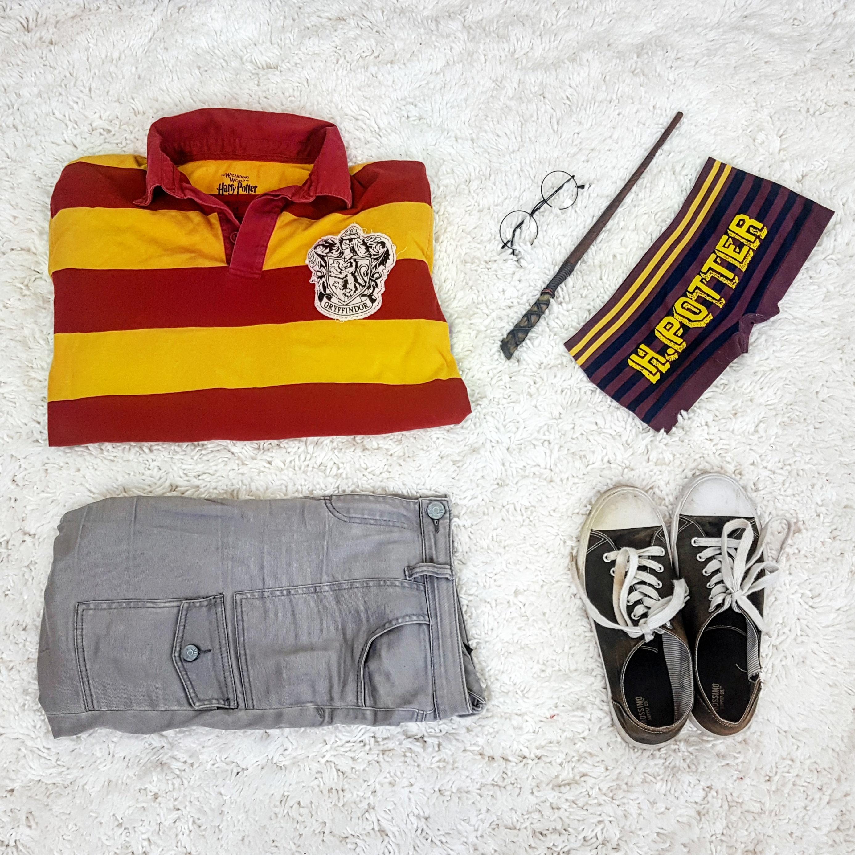 Harry Potter flay lay