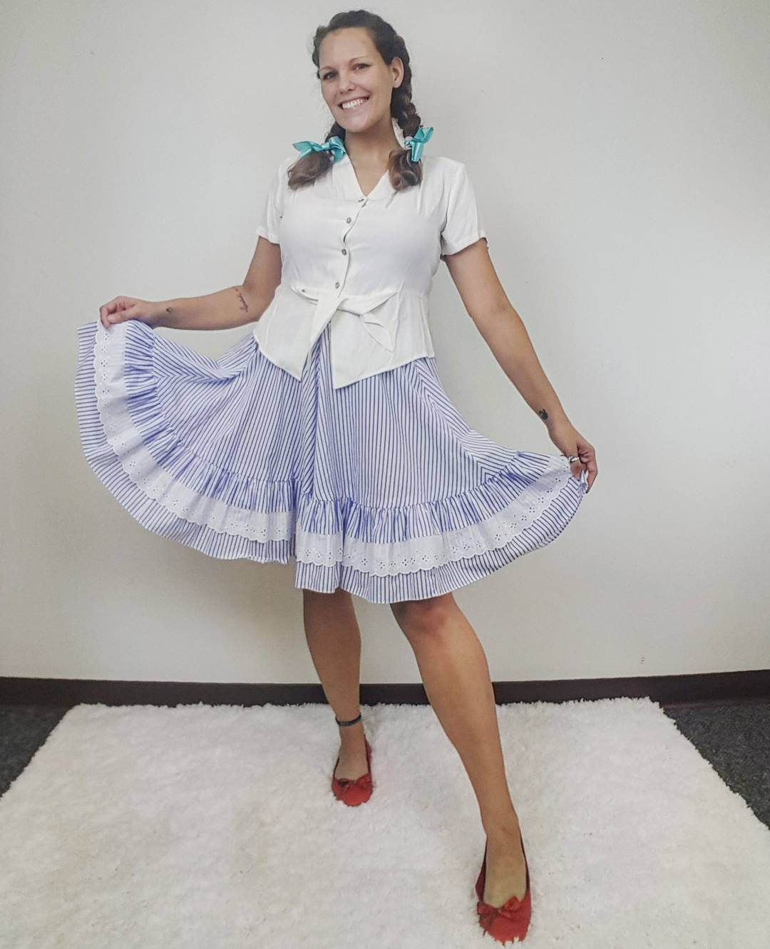 Thrift Store Cosplay Day 17 Dorothy from Wizard of Oz