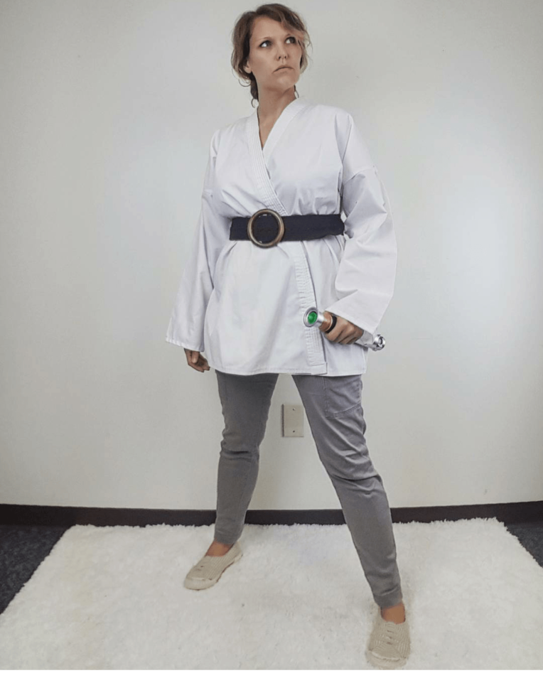 Thrift Store Cosplay Day 31 grand finale Luke Skywalker Star Wars