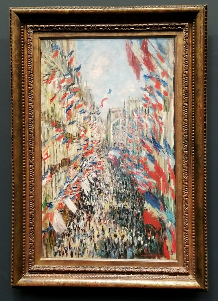 Lizzie Does Paris - Claude Monet