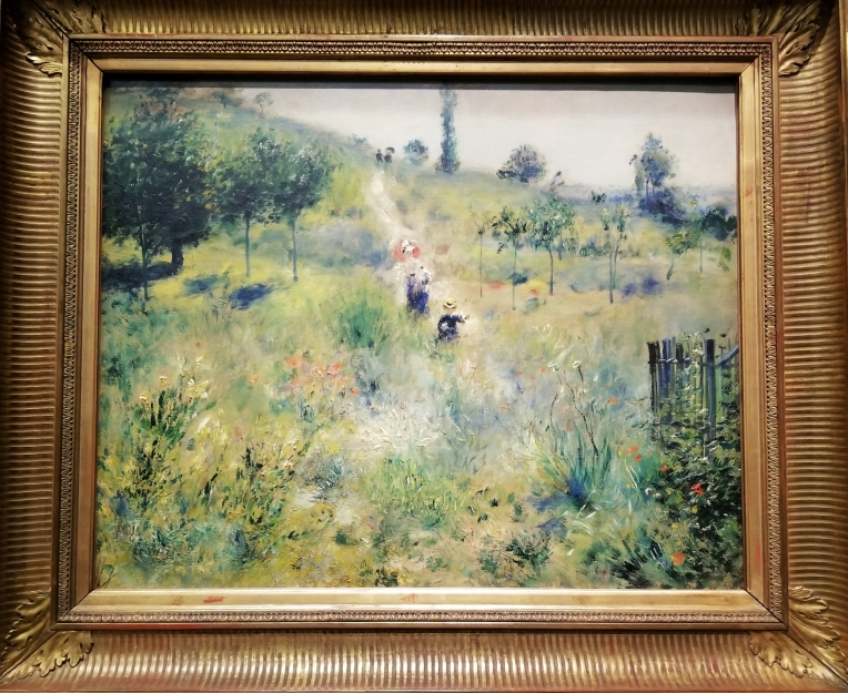 Lizzie does Paris - Renoir