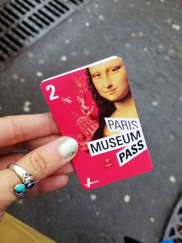 Lizzie Does Paris - Paris Museum Pass