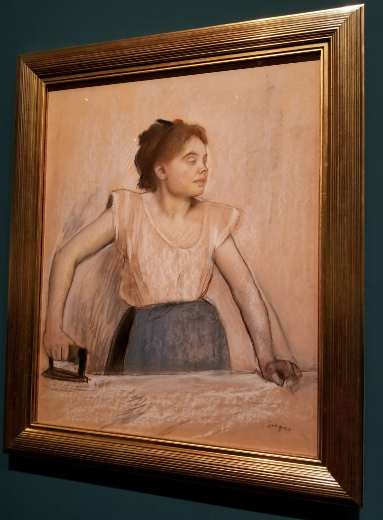 Lizzie does Paris - Degas Exhibit