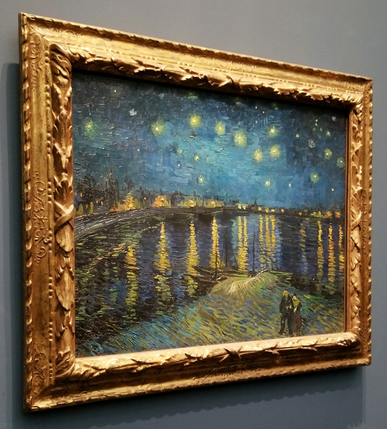 Lizzie does Paris - Van Gogh's Le Nuit