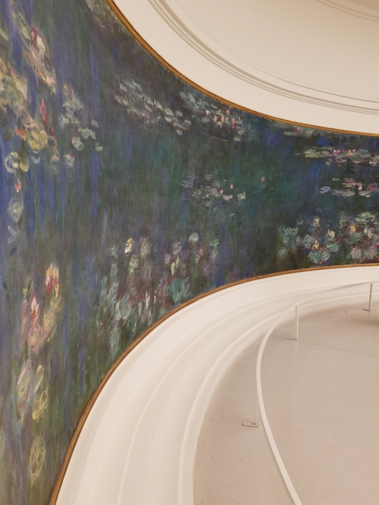 Lizzie does Paris - Monet's Waterlillies