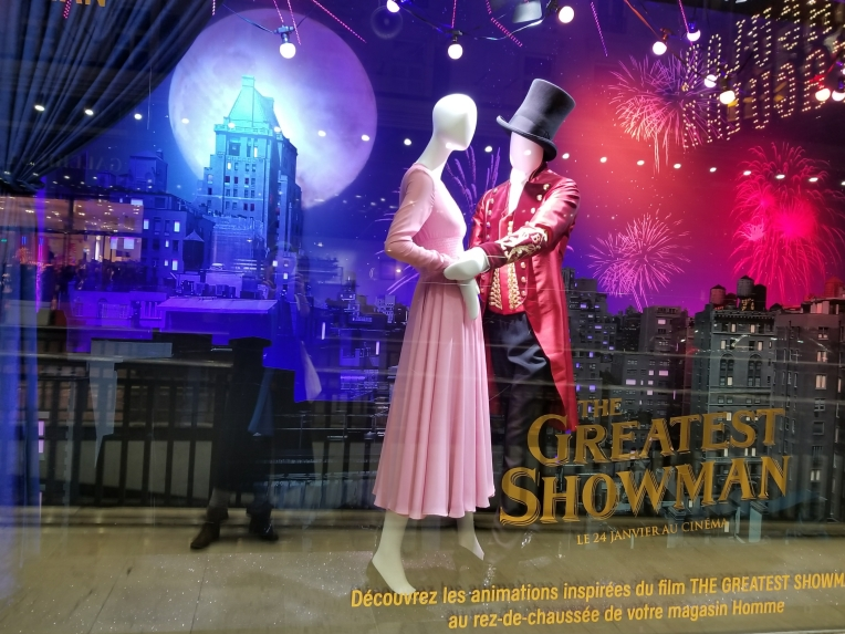 Lizzie does Paris - The Greatest Showman