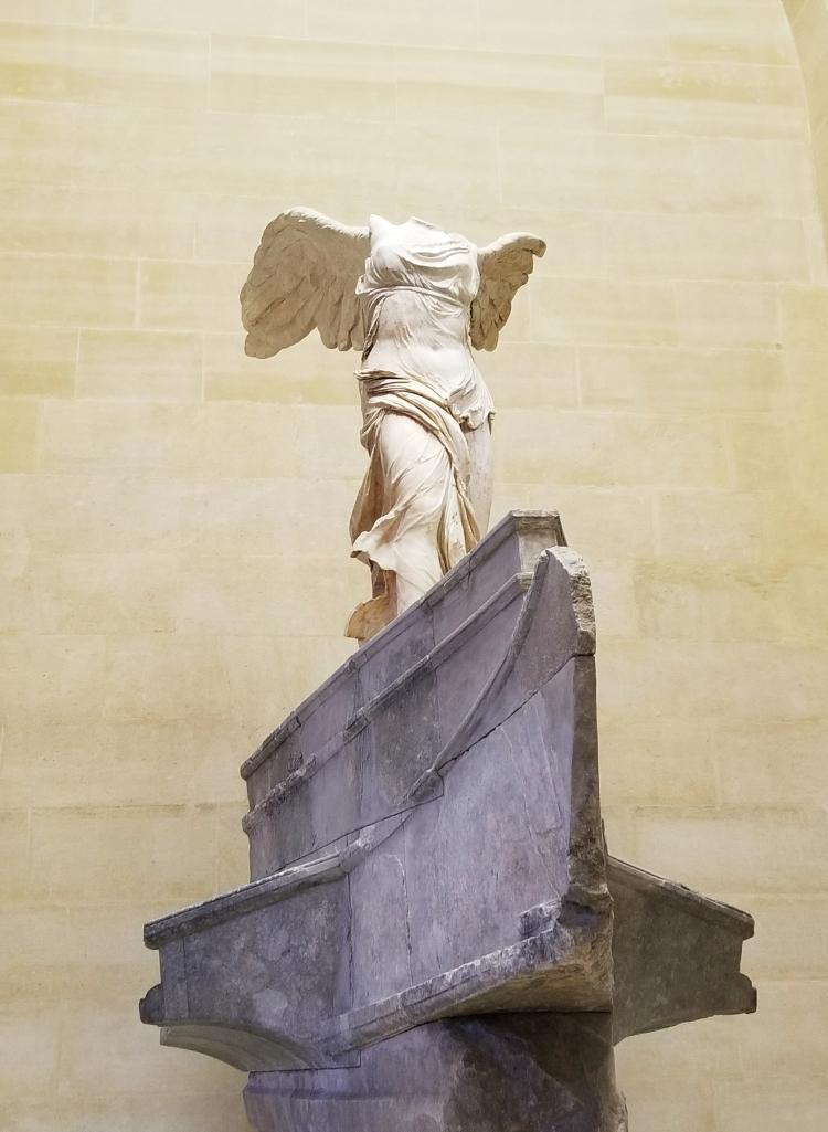 Lizzie does Paris - The Louvre