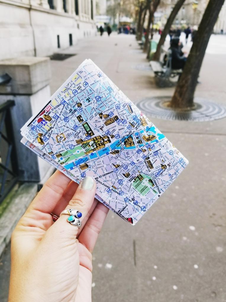 Lizzie does Paris - Map