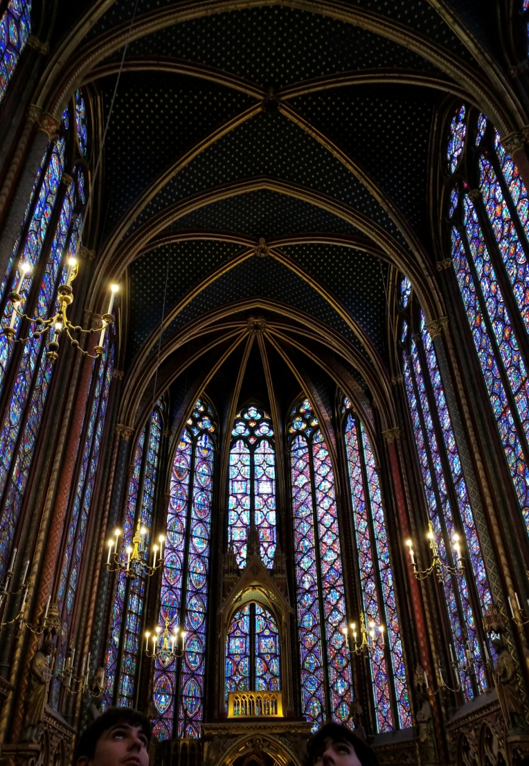 Lizzie does Paris - Saint Chapelle