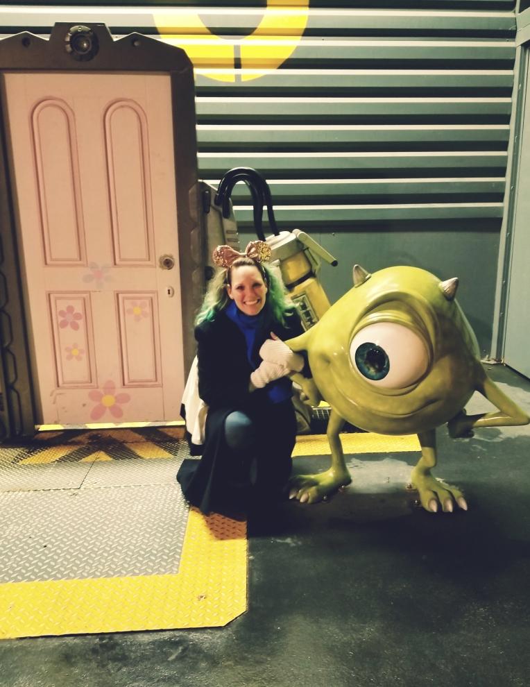 Lizzie does Disneyland Paris - Mike Wazowski Monsters Inc