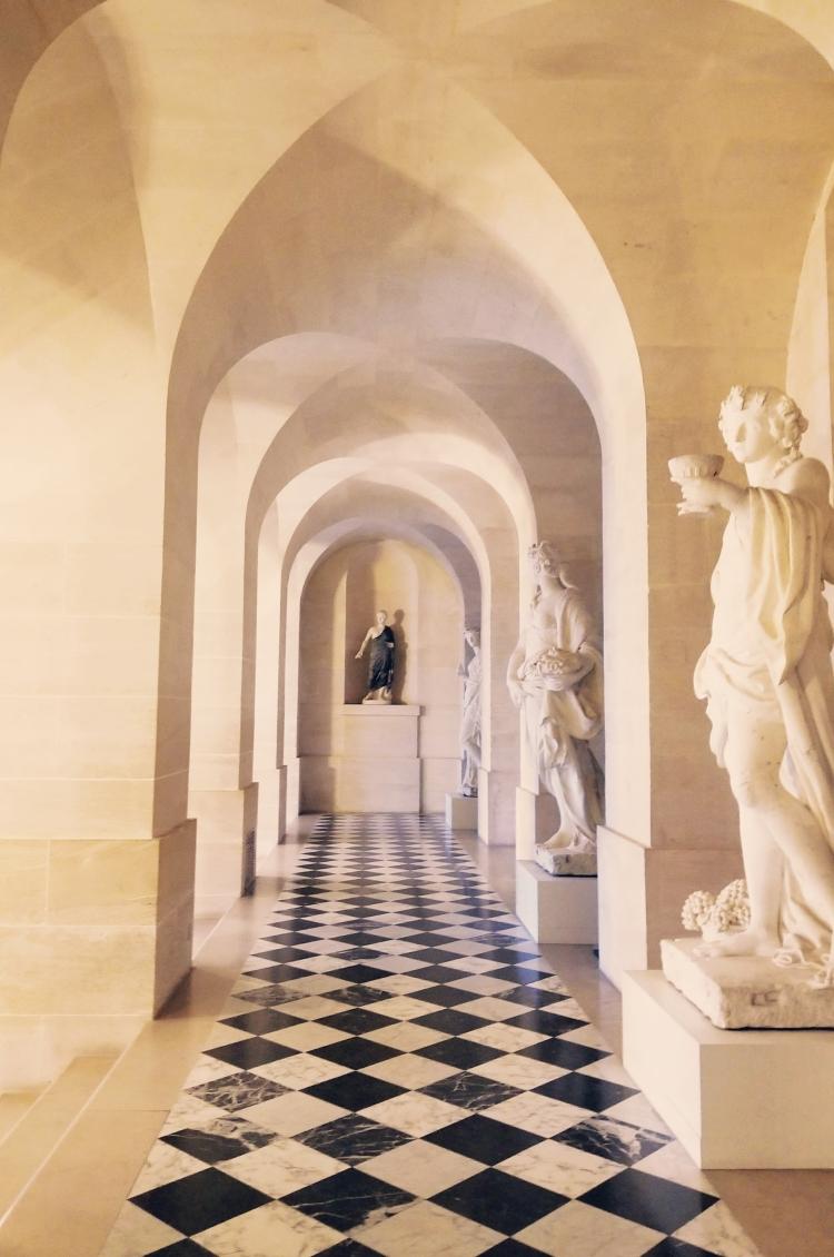 Lizzie does Paris - Palace of Versailles