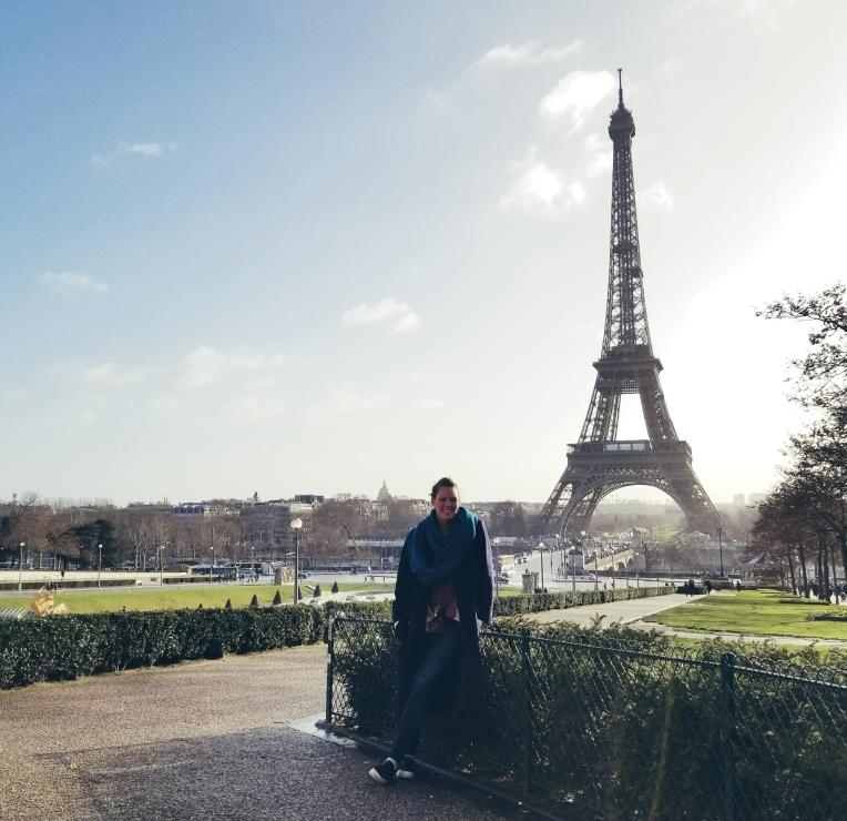 Lizzie does Paris - Eiffel Tower