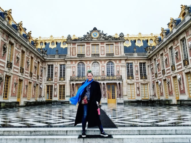 Lizzie does Paris - Palace of Versailles